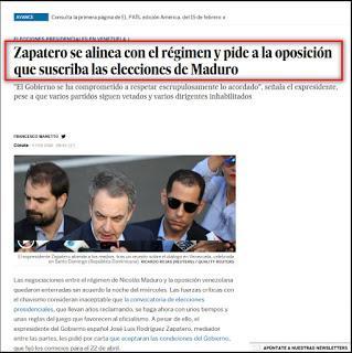 Matar al mediador: `El País´ contra Zapatero [+ video]