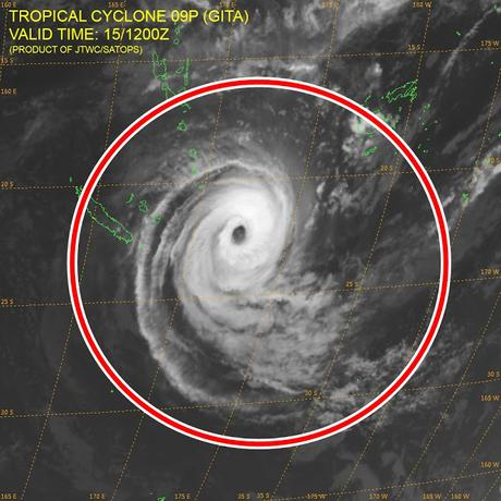 Vanuatu y Nueva Caledonia sienten los efectos del ciclón tropical
