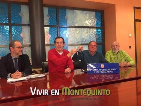 Se firma el convenio para la la gestión de los Huertos Urbanos de Montequinto