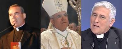 """Los disparates de tres obispos andaluces: """"el glotón"""", """"el estrecho"""" y """"el integrista""""."""