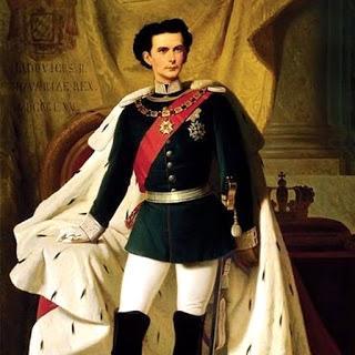El rey Ludwig II de Baviera.
