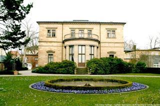 Villa Wahnfried, la primera casa en propiedad de Wagner, a sus 62 años.