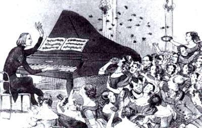 Acalorada acogida de un concierto de piano de Franz Liszt.