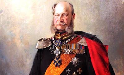 El gran emperador Wilhelm / Guillermo, sin la compañía de Otto von Bismark.