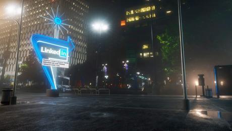 Carteles luminosos para denunciar el impacto negativo de las redes sociales en la sociedad