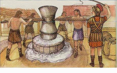 Molinos romanos  (pistrium)