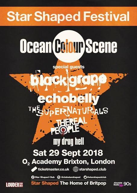 [Noticia] Ocean Colour Scene encabezan el cartel del Star Shaped Festival