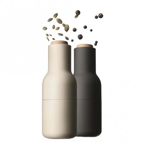 scandinavian design molinillo sal pimienta menu dinamarca diseño nórdico diseño danés danish design bottle molinillos menu accesorios cocina