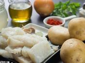 Receta guiso patatas bacalao