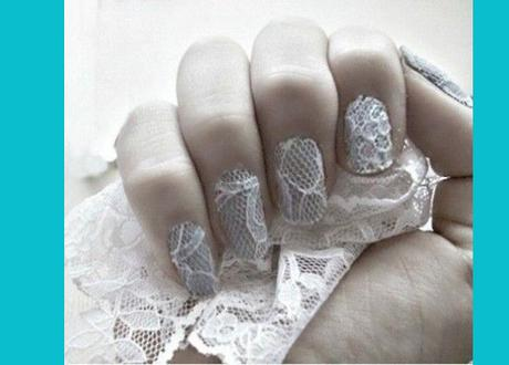 Diseño de uñas para una boda