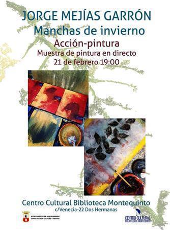 Muestra de Pintura en directo: 'Acción-pintura' – Jorge Mejías
