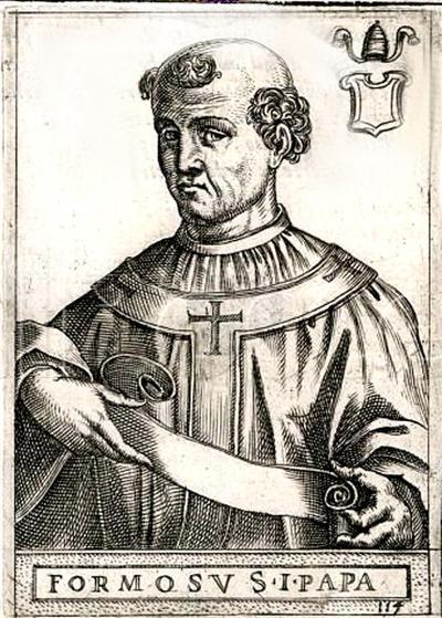 Para juicio el del papa Formoso