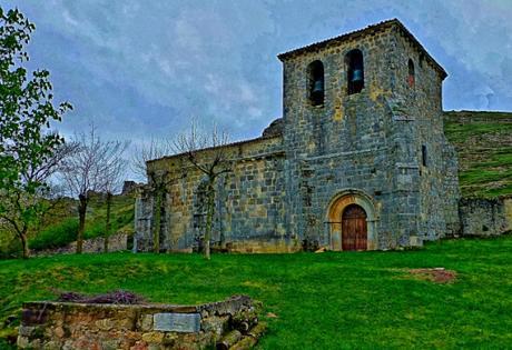 La iglesia cristiano celta de Fuente Urbel (Burgos).