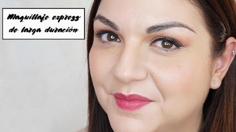 Maquillaje express de larga duración (rápido, fácil y duradero)