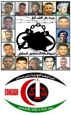 El Comité Nacional Saharaui para los Derechos Humanos expresa su enérgica condena por la detención continuada del grupo de estudiantes saharauis en Marrakech