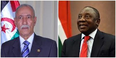 El Presidente de la RASD felicita al nuevo Presidente de Sudáfrica