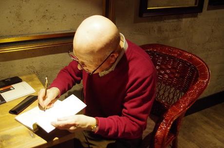 Encuentro con Javier Lostalé por su libro de poesía Cielo