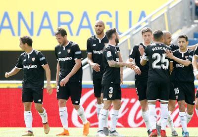 Crónica UD Las Palmas 1 - Sevilla FC 2