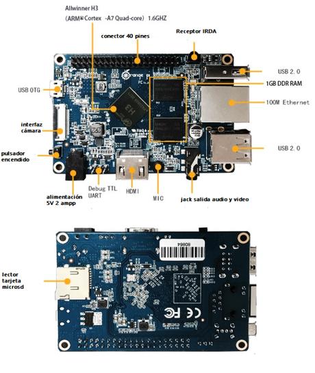 Servidor para impresora 3d con Orange Pi PC