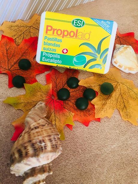 propolaid, propolis, suavizar garganta, stop tos, propolbaby, fresa, eucalipto, miel, equinacea, tabletas balsámicas, pastillas blandas, trepat diet, esi,