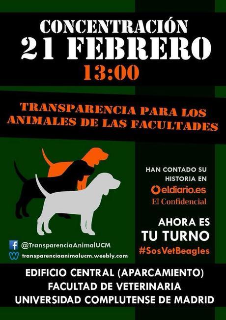 concentracion facultad veterinaria madrid