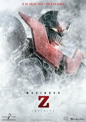 """""""Mazinger Z Infinity"""" o """"Mas fuerte, robots"""""""