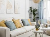 apartamento decoración natural fresca