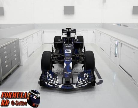 Red Bull revela la decoración provisional del RB14 - Diseño más atractivo