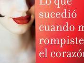 sucedió cuando rompiste corazón (Rocío Carmona)