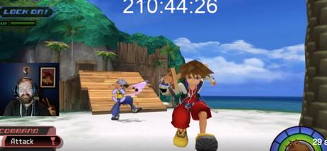 Consiguen nivel 100 de Sora en Kingdom Hearts sin salir de Islas del Destino
