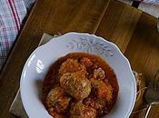 Albóndigas salsa tomate
