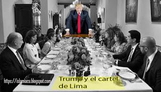 """Trump y el """"Cartel de Lima"""" quieren derrocar al gobierno de Maduro"""