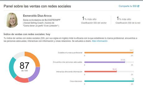 Enfoca tu actividad en LinkedIn, pensando en el Social Selling Index  [SSI]