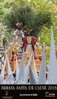 El cartel de la semana santa de Cádiz