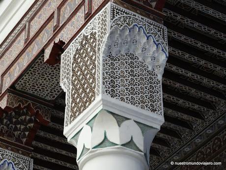 Marrakech (2); el zoco, el Museo de Marrakech y ......................... los Jardines Majorelle.