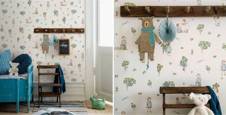 Scandinavian Designers Mini by Borastapeter