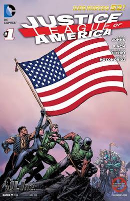 Liga de la Justicia de America Vol 3