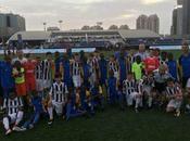 Infantil Escuela Fútbol Base Angola lidera grupo Dubai