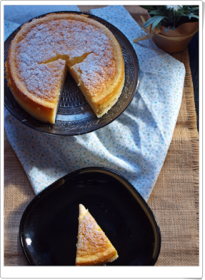 Cheesecake japonesa de 3 ingredientes
