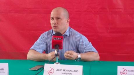 Julio Profe visita SLP habla sobre los retos de la educación América Latina
