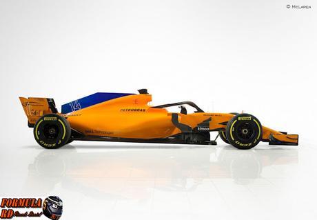 McLaren presenta el MCL33, su arma del 2018 | Retorno al naranja papaya