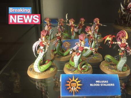 Melusai y Khinerai expuestas en Warhammer World