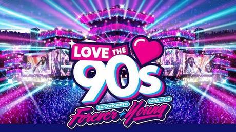 Love the 90´s, el mayor festival de música de los 90, llega por primera vez a Tenerife el 22 de septiembre