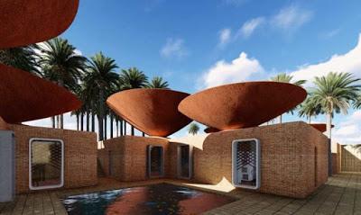 Arquitectura sostenible: Concave Roof