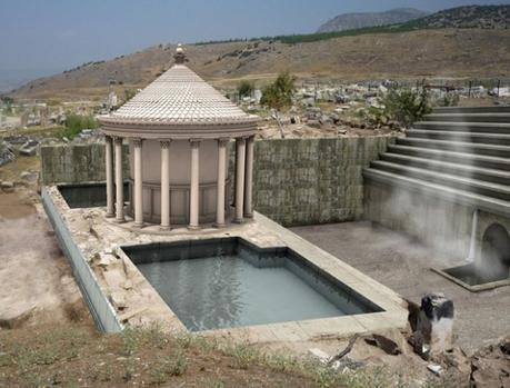 """Encuentran una """"puerta del infierno"""" de la época romana en Turquía"""