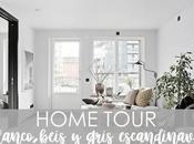 HOME TOUR: blanco, beis gris escandinavo