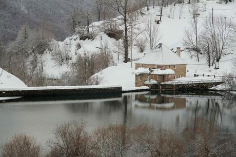 Un poco de invierno en Somiedo