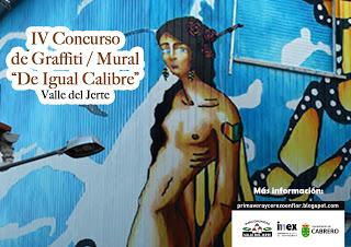 Concurso graffiti mural Igual Calibre