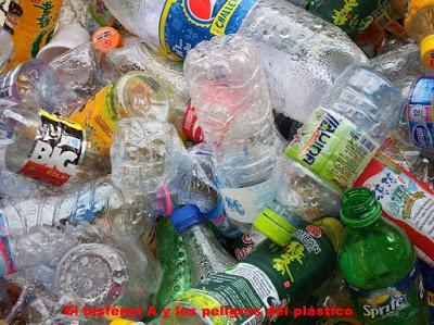 El bisfenol A y los peligros del plástico