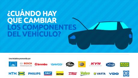 ¿Cuándo hay que cambiar los componentes del vehículo?